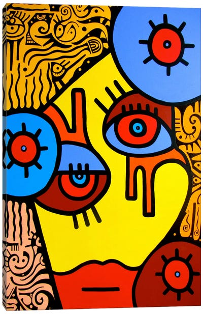 Rosi Canvas Art Print