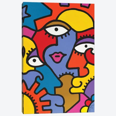 Spoleto Canvas Print #BTA56} by Billy The Artist Canvas Artwork