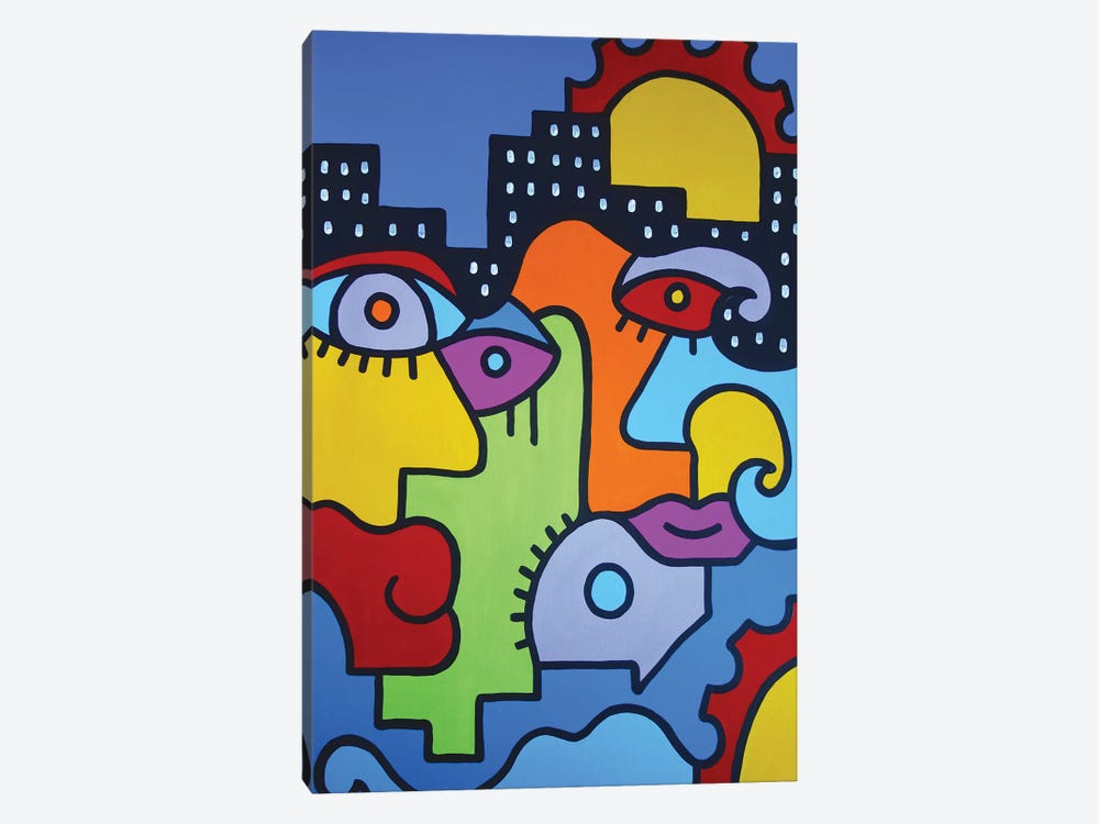 Summer In The City II by Billy The Artist 1-piece Art Print