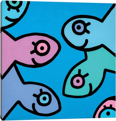 Little Fish II Canvas Art Print