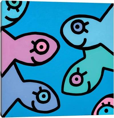 Little Fish II Canvas Art Print