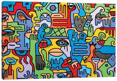 The City Canvas Art Print