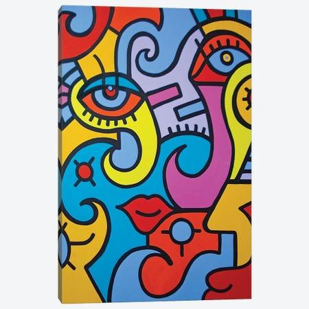 Visual Candy Canvas Print #BTA67} by Billy The Artist Canvas Print