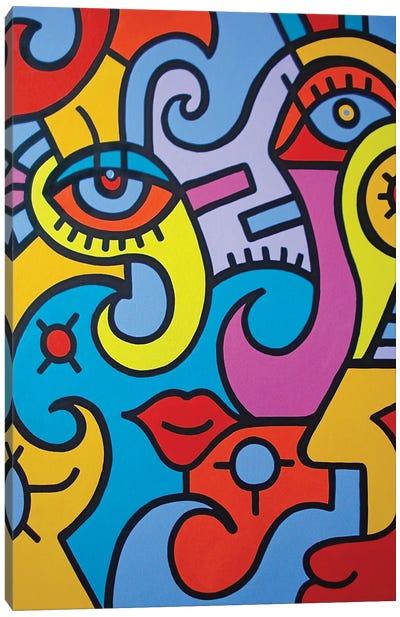 Visual Candy Canvas Art Print