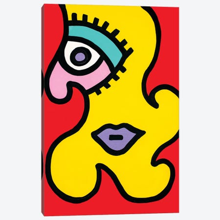 Scarlett Canvas Print #BTA9} by Billy The Artist Canvas Art Print