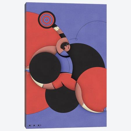 Fed Canvas Print #BTG14} by John Battalgazi Canvas Artwork