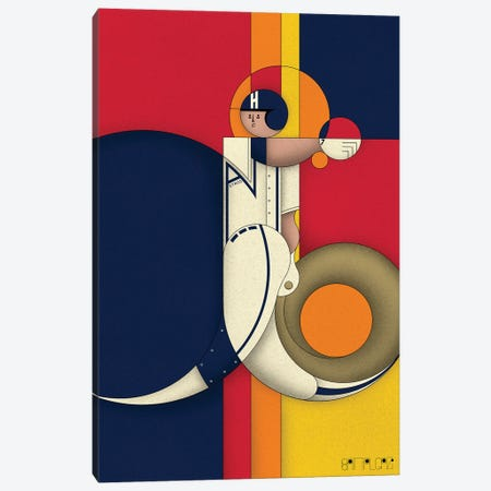 Biggio Canvas Print #BTG33} by John Battalgazi Canvas Art Print