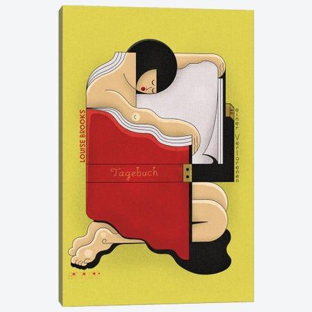 Louise Canvas Print #BTG46} by John Battalgazi Art Print
