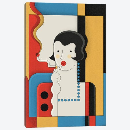 Brooks Canvas Print #BTG51} by John Battalgazi Art Print