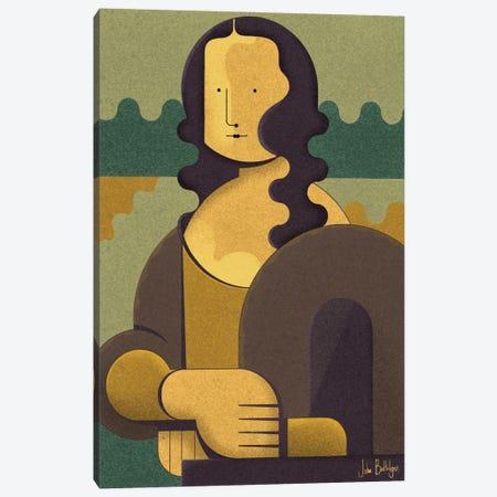 My Mona Canvas Print #BTG57} by John Battalgazi Canvas Wall Art