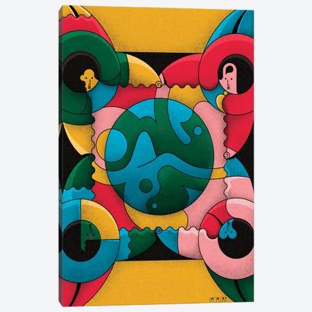 Together Canvas Print #BTG71} by John Battalgazi Art Print