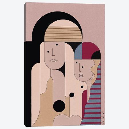 The Sheik Canvas Print #BTG75} by John Battalgazi Canvas Artwork