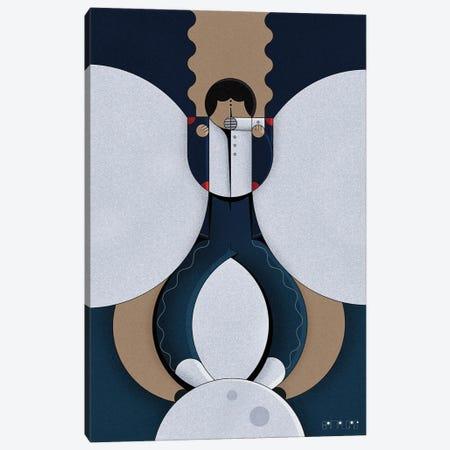 Moonwalk Canvas Print #BTG81} by John Battalgazi Canvas Artwork