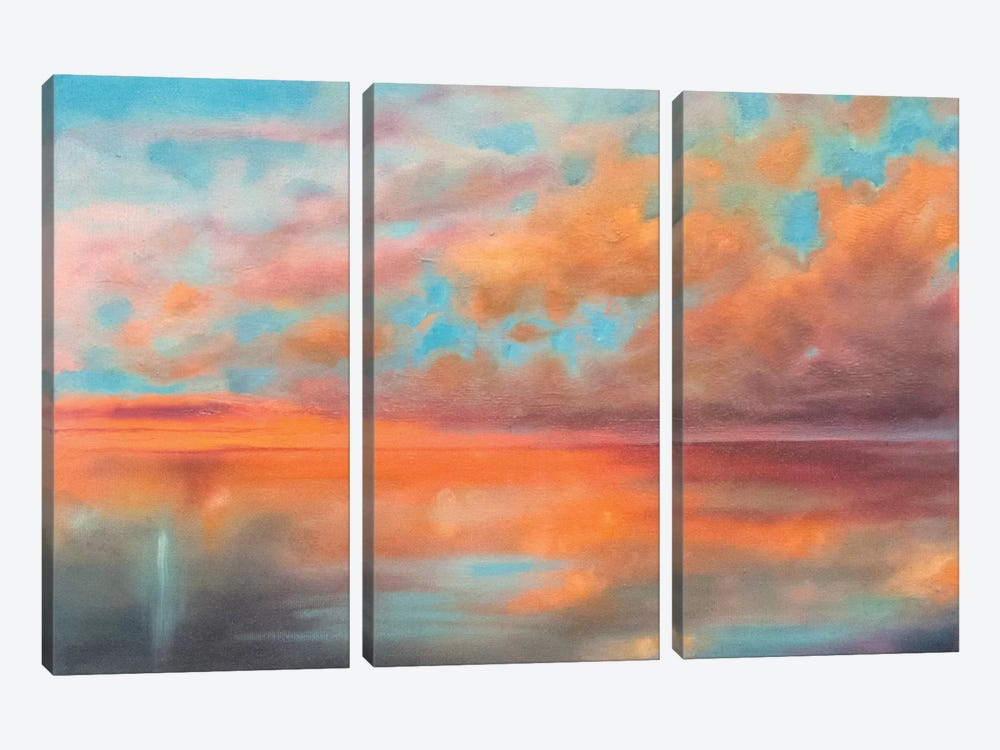 As Above, So Below by Marabeth Quin 3-piece Canvas Wall Art