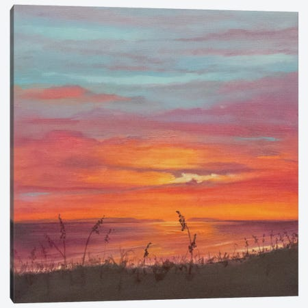 Niihau Aglow Canvas Print #BTH3} by Marabeth Quin Canvas Wall Art