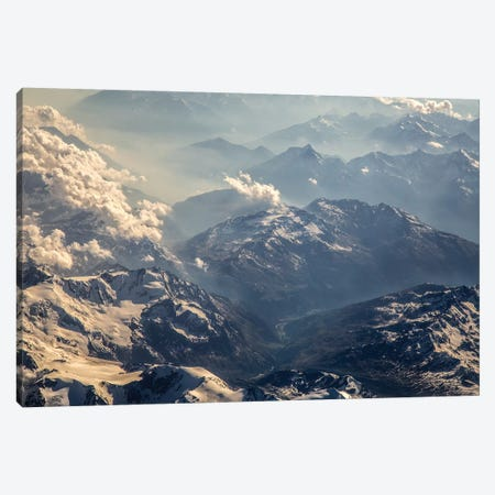 Airscape Amalfi Coast XIII Canvas Print #BTL30} by Aliette Bretel Canvas Wall Art