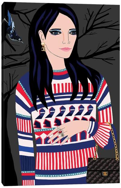 Chanel Woman Canvas Art Print