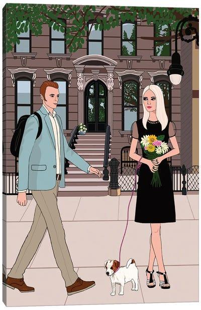Brooklyn Romance Canvas Art Print