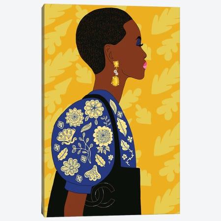 Portrait Of Super Model Adut Akech Canvas Print #BTM41} by Jackie Besteman Canvas Wall Art