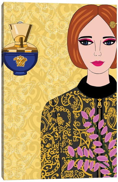 Versace Jacket And Perfume Canvas Art Print