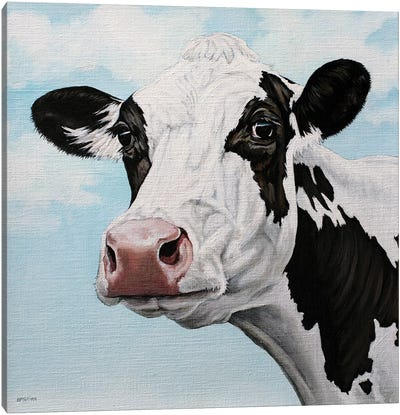 Dairy Cow Canvas Art Print