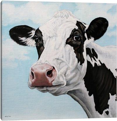 Dairy Cow Canvas Art Print