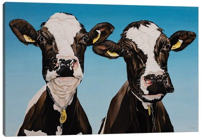 Daisy And Bella Canvas Art Print