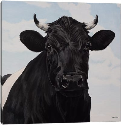 Dutch Belted Cow Canvas Art Print