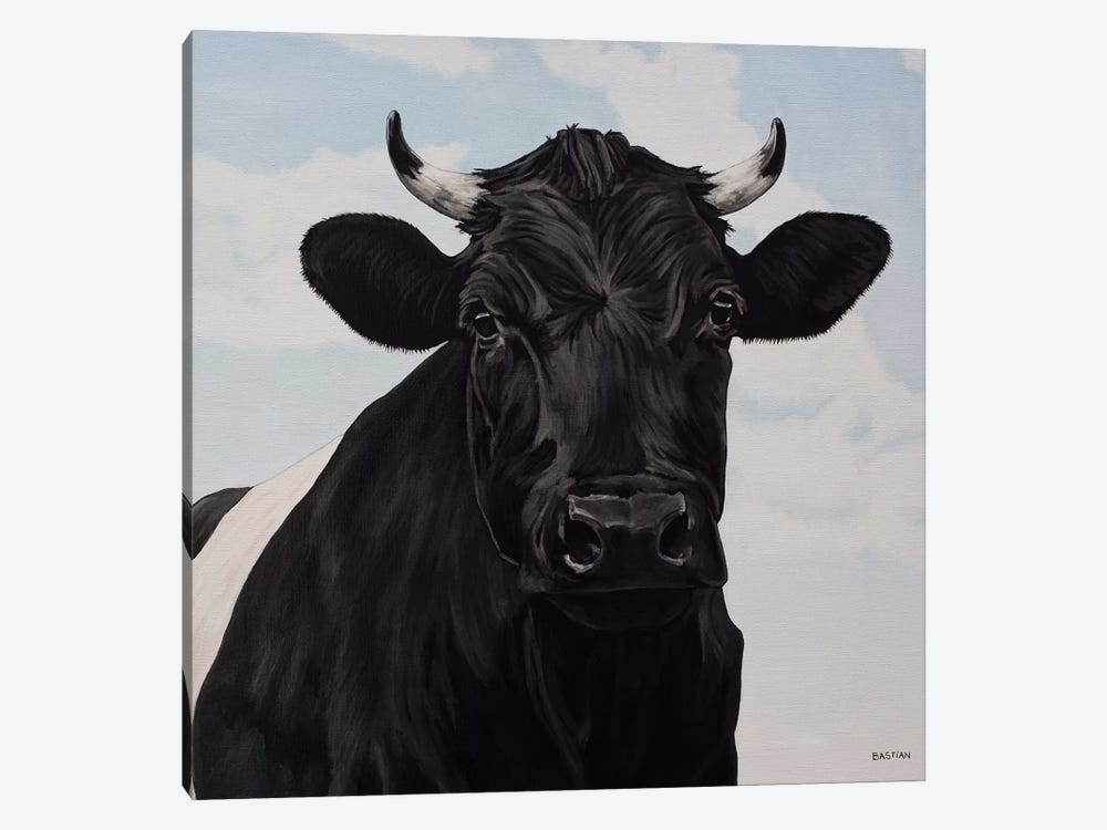 Dutch Belted Cow 1-piece Canvas Wall Art