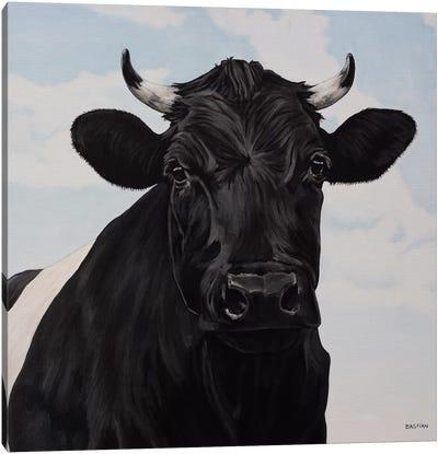 Dutch Belted Cow Canvas Art Print