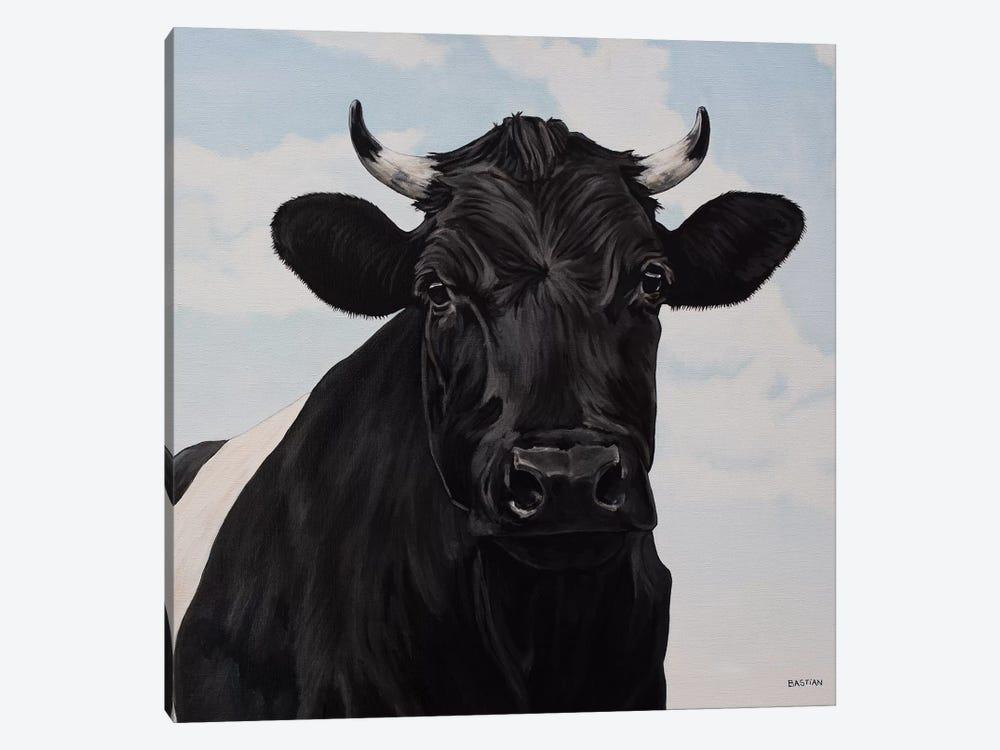 Dutch Belted Cow by Clara Bastian 1-piece Canvas Wall Art