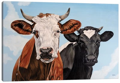 Ginger And Bessie Canvas Art Print