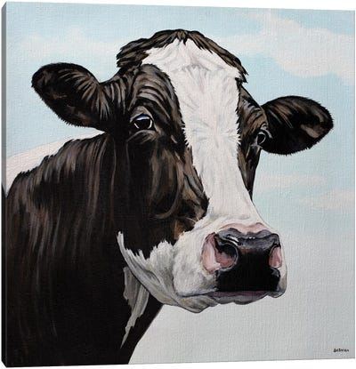 Moo Cow Canvas Art Print
