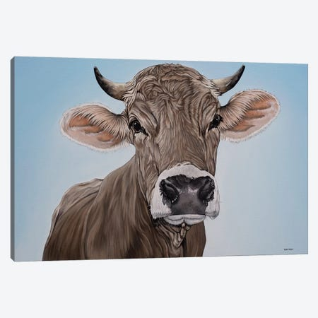 Brown Swiss Canvas Print #BTN4} by Clara Bastian Canvas Art Print