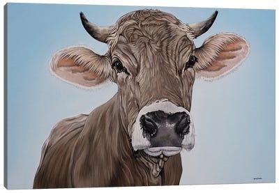 Brown Swiss Canvas Art Print