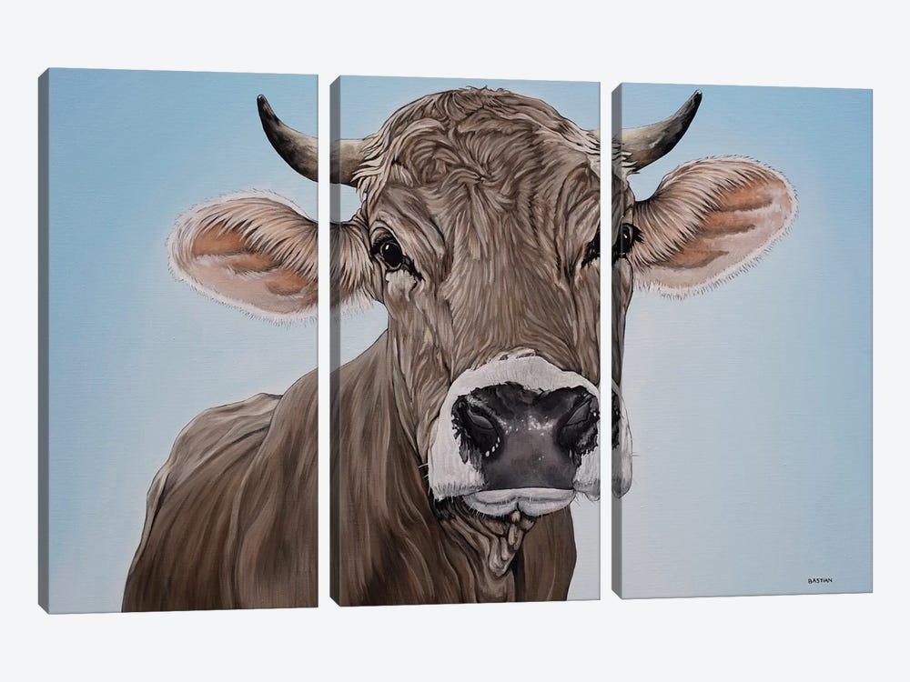 Brown Swiss by Clara Bastian 3-piece Art Print