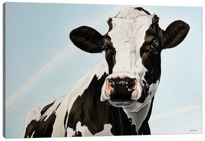 Pretty Cow Canvas Art Print