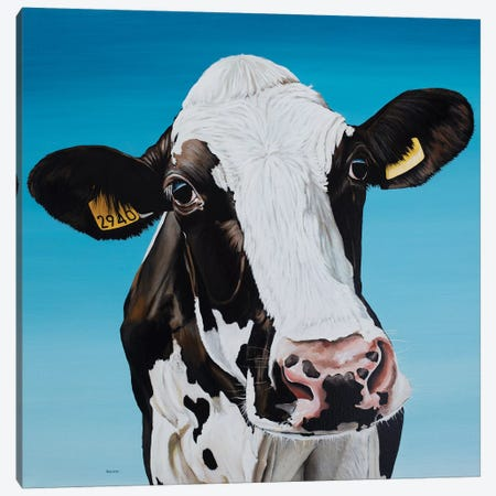 Cow 2940 Canvas Print #BTN7} by Clara Bastian Art Print
