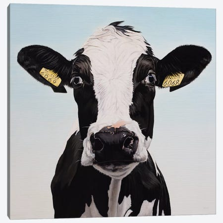 Cow 6069 Canvas Print #BTN8} by Clara Bastian Canvas Art