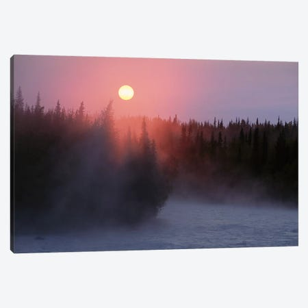 Sunrise Over Kasilof River, Kasilof, Alaska Canvas Print #BTR10} by Matthias Breiter Canvas Wall Art