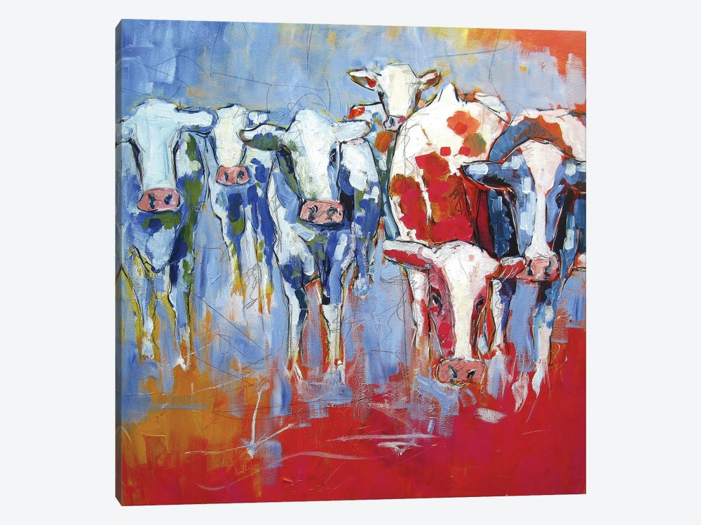 Cows by Luc. 1-piece Art Print