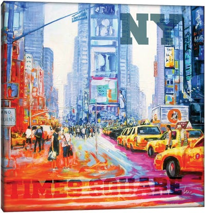 NY Times Square Canvas Art Print