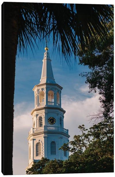 Charleston Steeple VII Canvas Art Print
