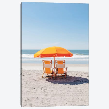 Folly Beach II Canvas Print #BTY1032} by Bethany Young Canvas Art