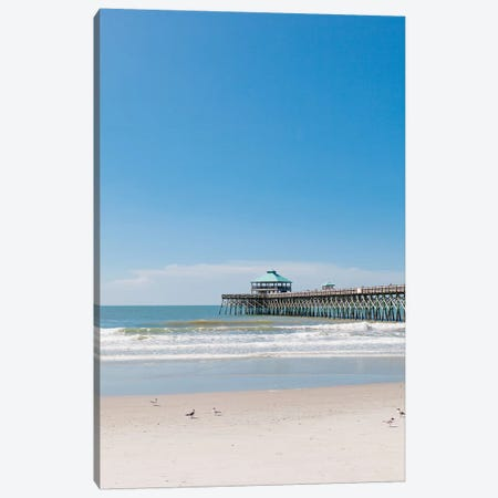 Folly Beach III Canvas Print #BTY1033} by Bethany Young Canvas Art