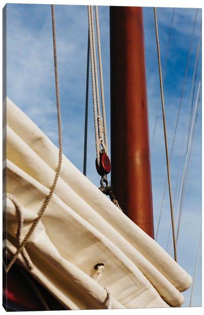 Charleston Sailboat III Canvas Art Print