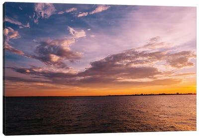 Charleston Sunset VIII Canvas Art Print