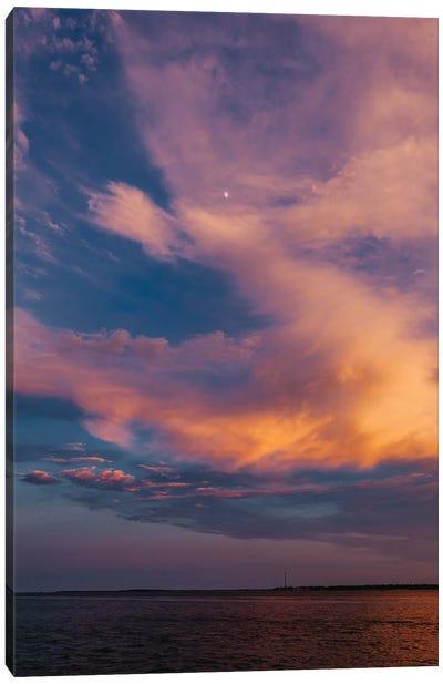 Charleston Sunset X Canvas Art Print