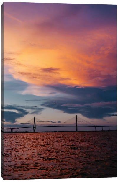 Charleston Sunset XII Canvas Art Print