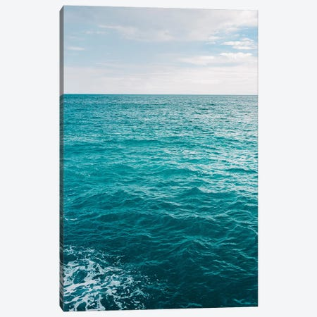 Amalfi Coast Water XVII Canvas Print #BTY10} by Bethany Young Canvas Print